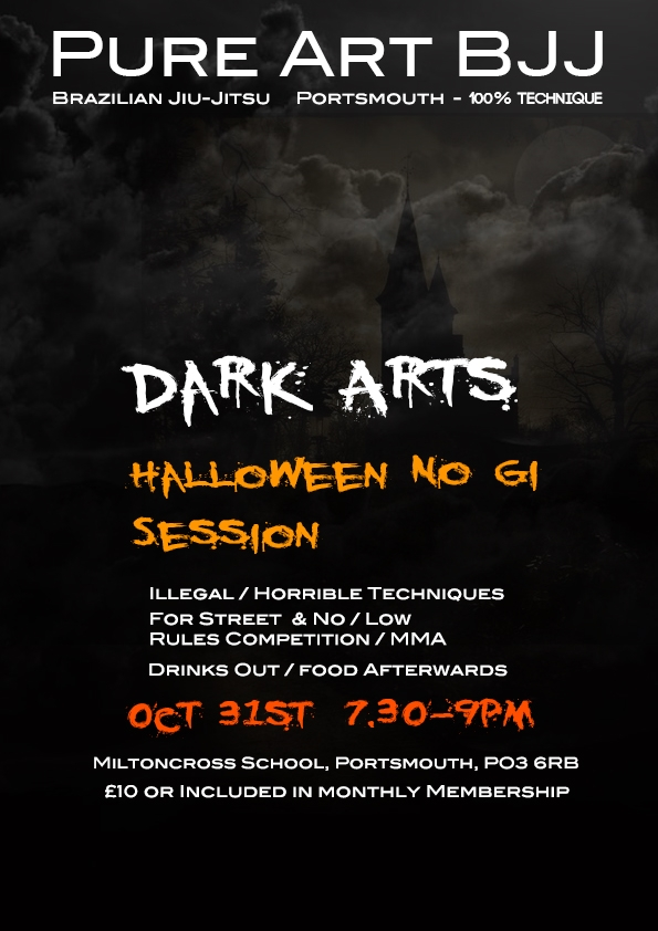 Halloween Self Defence Session in Portsmouth