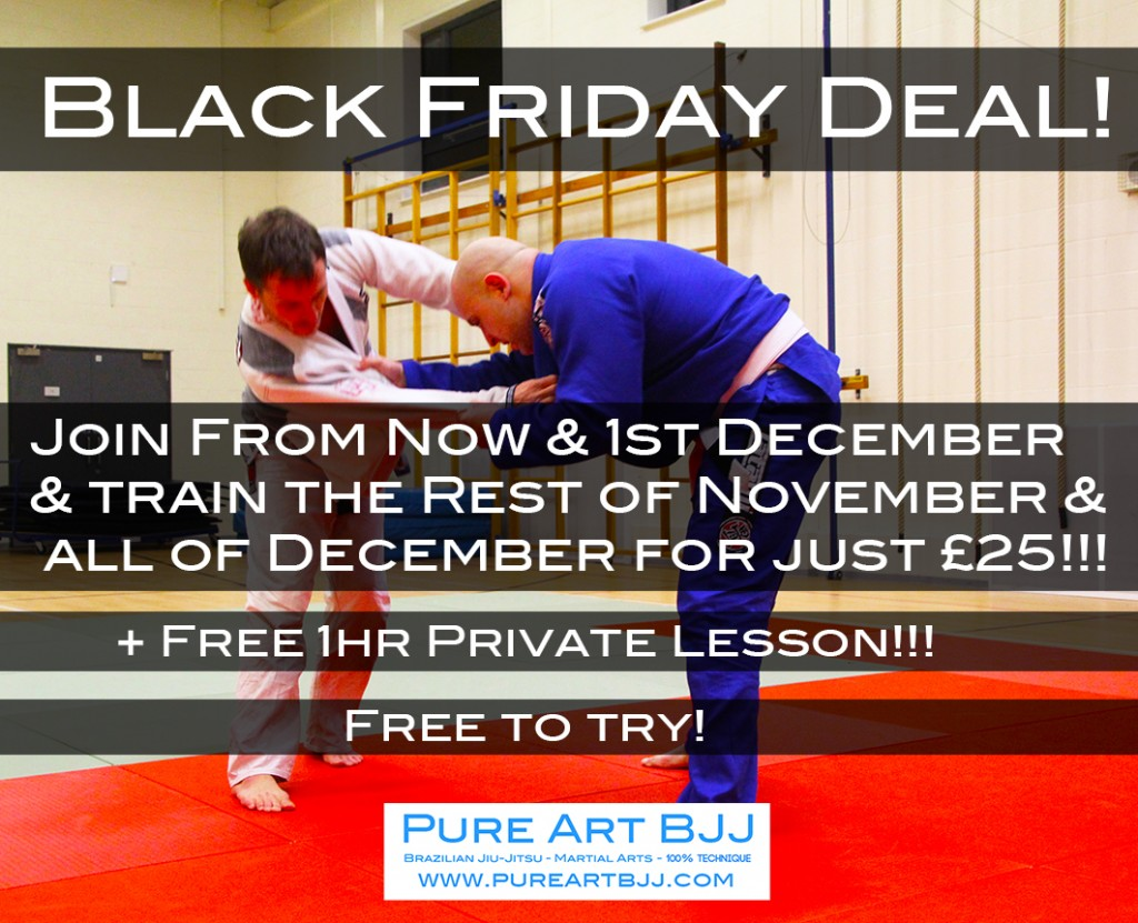 Black Friday Deal! Train All December For Just £25!!!